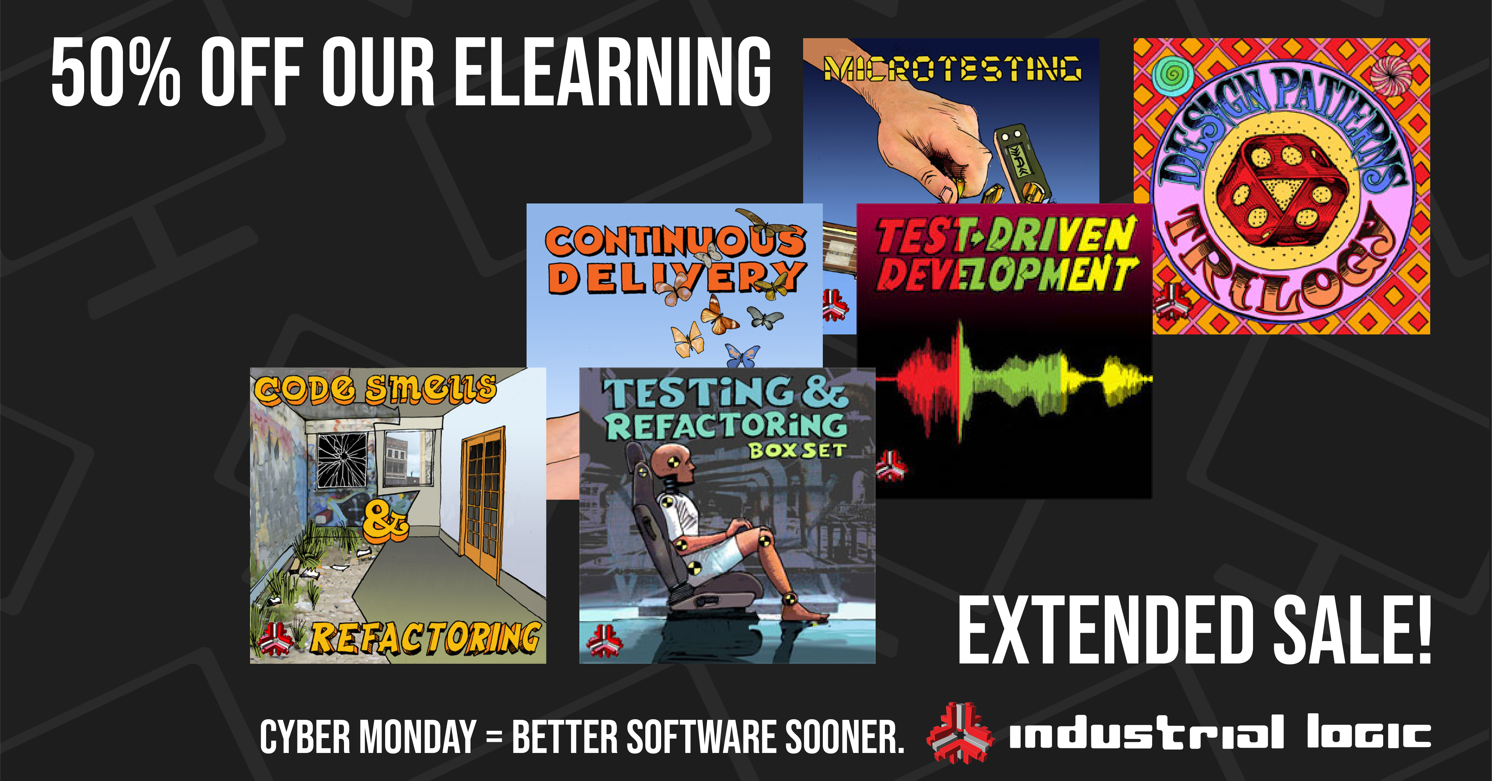 eLearning CyberMonday Sale Extended